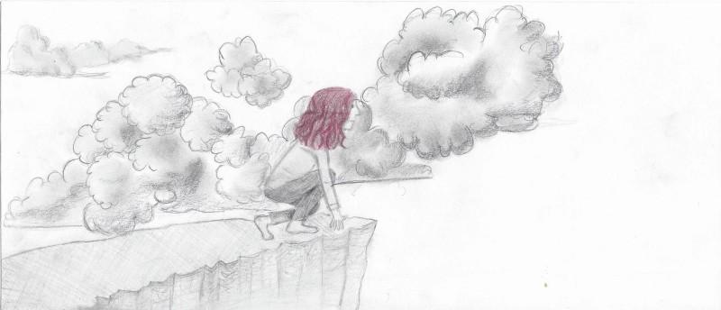 Sina - Das Mädchen auf der Klippe